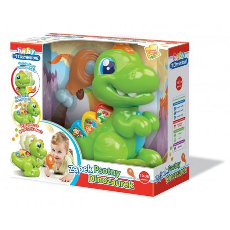 Ząbek Psotny Dinozaurek 10-36m+ Clementoni 60244