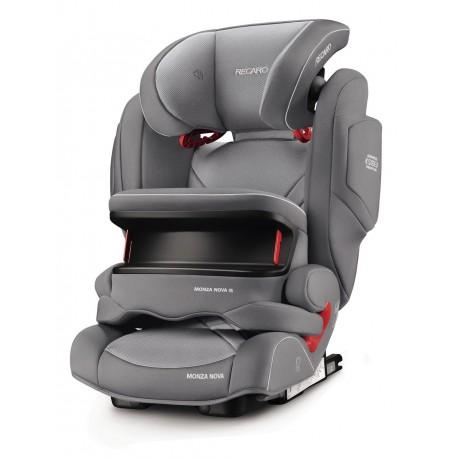 Monza Nova IS Seatfix 9-36 kg Aluminium Grey