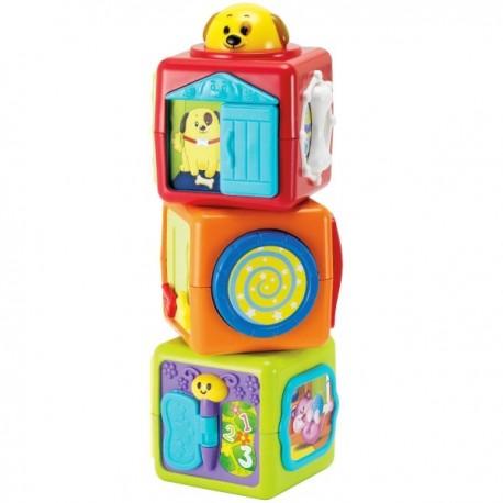 Wieża z klocków 3m+ Smily Play 0613A