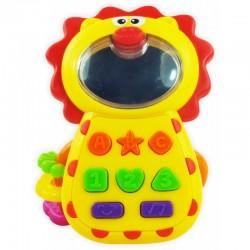 Grzechotka Muzyczny Telefonik Lew Baby Mix KP-0680B