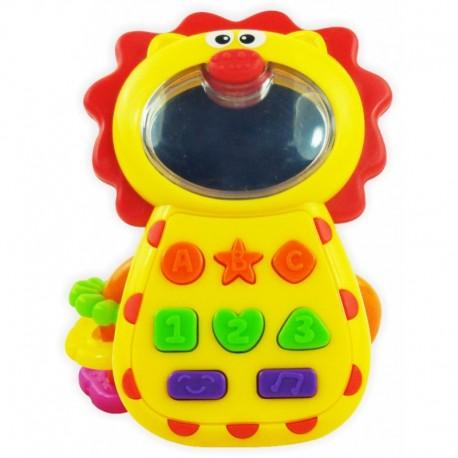 Muzyczny Telefonik  Lew Baby Mix KP-0680B