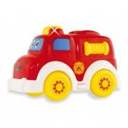 Muzyczny Samochodzik Straż Pożarna Baby Mix PL369156