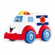 Muzyczny Samochód Ambulans Baby Mix PL369155