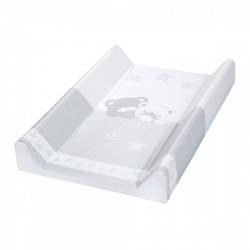 Przewijak krótki twardy 50x70 cm Albero Mio by Klupś - Misiowe Sny 186 szary