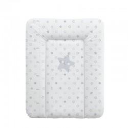 Tapicerka mała miękka WM 50x70 cm Ceba Baby Gwiazdki Szare