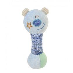 Zabawka piszczek od 6m+ 15 cm BabyOno 1247 Mały Miś