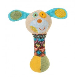 Zabawka piszczek od 6m+ 15 cm BabyOno 1251 Mały Piesek