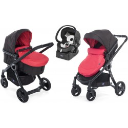 Wózek dziecięcy Chicco Urban Plus Crossover 5w1 Red Passion