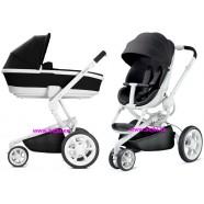 Wózek dziecięcy Quinny Moodd 2w1 Black Irony