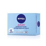 Delikatne mydło pielęgnujące dla niemowlat i dzieci Nivea 100 ml