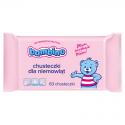 Chusteczki dla niemowląt Bambino 63 szt