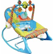 Leżaczek od 0 do 18 kg Edu-Play Arti 532 niebieski