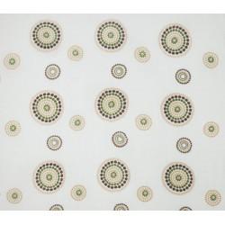 Pielucha bambusowa otulacz 90x90 cm DuetBaby 702 - dmuchawiec zielono-brązowy
