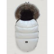 Śpiwór zimowy Cottonmoose Moose 422 - biały + czarny