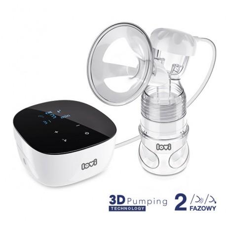 Laktator elektryczny 3D Pumping dwufazowy Expert LOVI 50/000