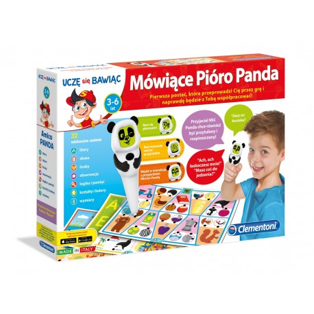 Mówiące Pióro Panda od 3-6 lat Clementoni 60443