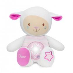 Owieczka z projektorem od 0m+ Chicco - różowa