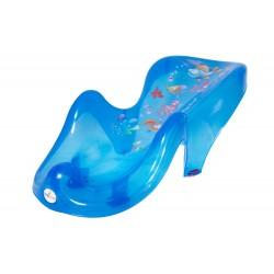 Fotelik leżaczek do kąpieli Tega Baby Aqua - niebieski