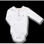 Body z długim rękawem Lafel Xoxo kod 12467 białe rozm. 56-74 cm