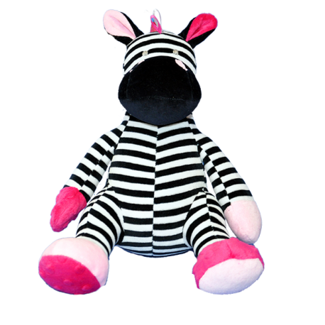 Maskotka przytulanka GONZO 0892 Żyrafka Zizi 30 cm - różowa