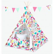 Namiot Tipi Mamo-Tato - Piórka / biały