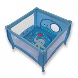 Kojec Baby Design Play 106x106 cm - 03 blue