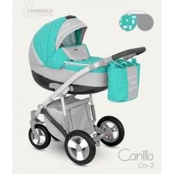 Wózek dziecięcy Camarelo Canillo carbon - Cn-2