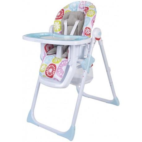 Krzesełko Sun Baby - różowo-błękitne