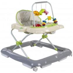 Chodzik Sun Baby Kotek B01.004 - kremowo-szary