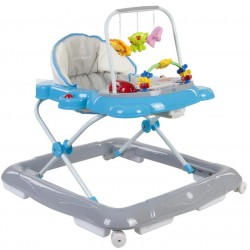 Chodzik Sun Baby Kotek B01.004 - niebieski