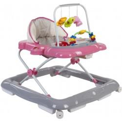 Chodzik Sun Baby Kotek B01.004 - różowy