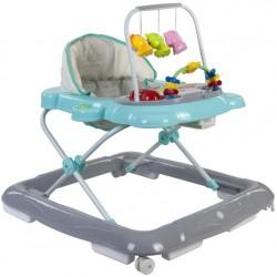Chodzik Sun Baby Kotek B01.004 - turkusowy