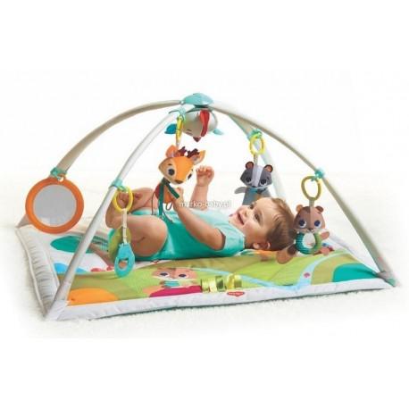 Mata edukacyjna gimnastyka dla bobasa z pałakami Leśna Kraina Tiny Love TL1205106830R