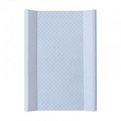 Tapicerka krótka miękka 50x70 cm Ceba Baby Caro - Niebieska
