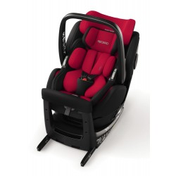 Fotelik Recaro Zero.1 Elite R129 i-Size od 0 do 105 cm (0-18kg) - Racing Red