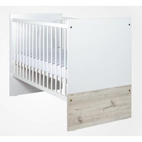 Łóżeczko Drewex Cortona standard - białe