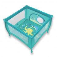 Kojec Baby Design Play 106x106 cm - 05 turkus