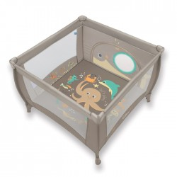 Kojec Baby Design Play 106x106 cm - 09 beżowy