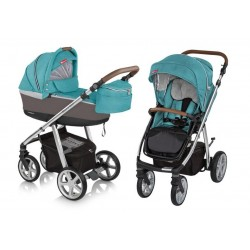 Wózek dziecięcy Espiro Next Manhattan - 205 Florida Turquoise