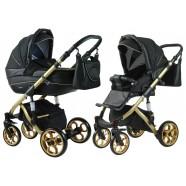 Wózek dziecięcy Coneco Primavera Prestige - Czarny