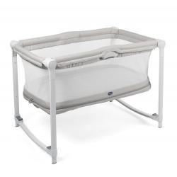 Łóżeczko Chicco Zip&Go dwupoziomowe dla dzieci od 0 do 24 m - Glacial