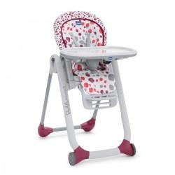 Krzesełko Chicco Polly Progress 5w1 dla noworodków - Cherry