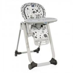 Krzesełko Chicco Polly Progress 5w1 dla noworodków - Anthracite