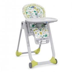 Krzesełko Chicco Polly Progress 5w1 dla noworodków - Kiwi