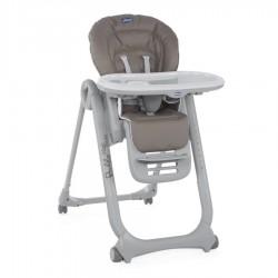 Krzesełko Chicco Polly Magic Relax dla noworodków od 0m - Dove Grey