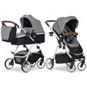 Wózek dziecięcy EasyGo Optimo - Grey Fox