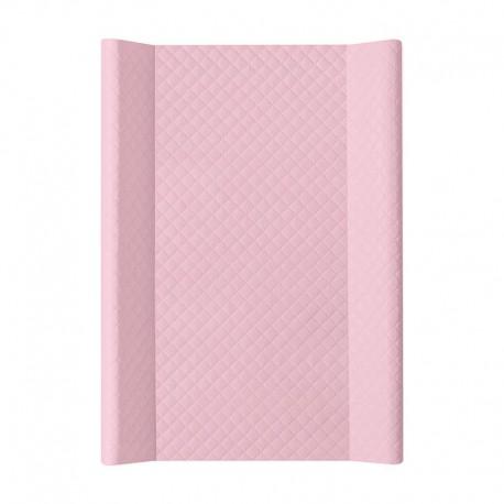 Przewijak nadstawka krótka twarda 50x70 cm Ceba Baby Caro - Różowe