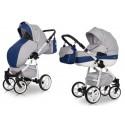 Wózek dziecięcy Riko Nano Ecco - Denim