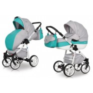 Wózek dziecięcy Riko Nano Ecco - Malachit