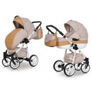 Wózek dziecięcy Riko Nano Ecco - Caramel